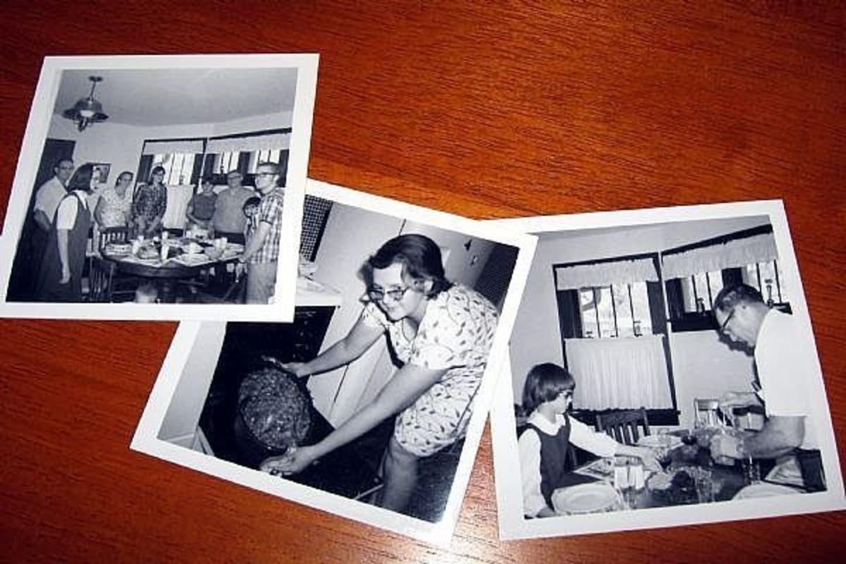 vintage thanksgiving photos