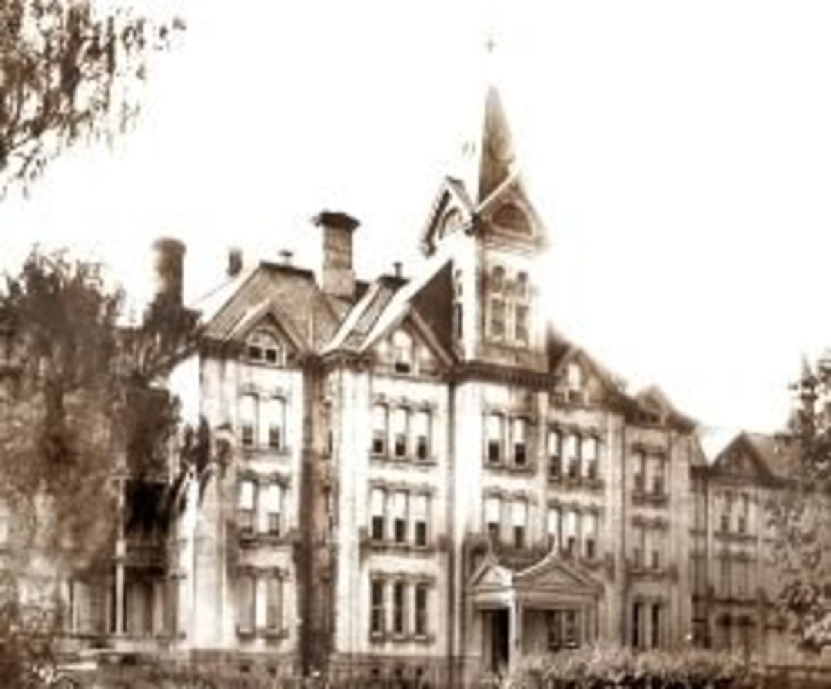 Haunted Asylums of America