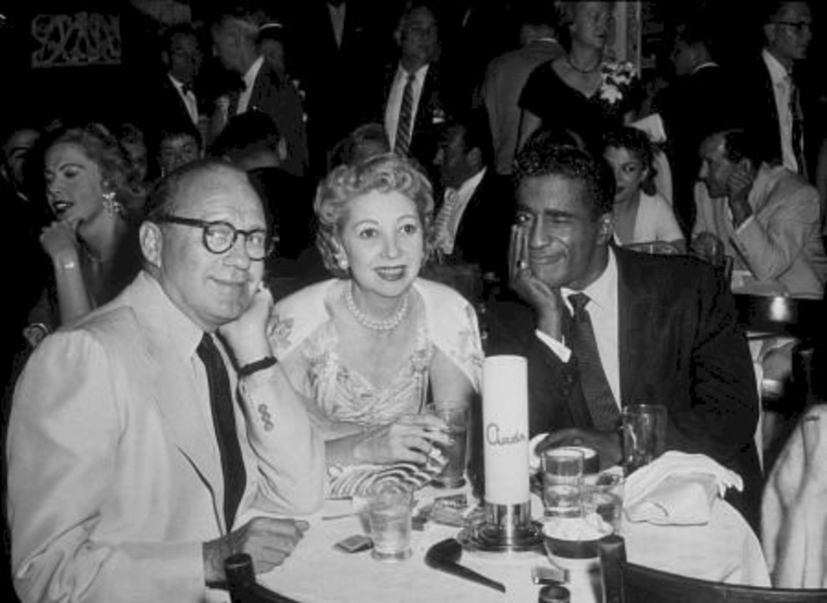 Jack Benny, Mary Livingstone, Sammy Davis Jr.