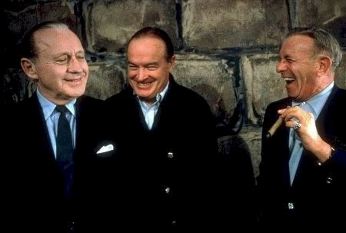 Jack Benny, Bob Hope, George Burns
