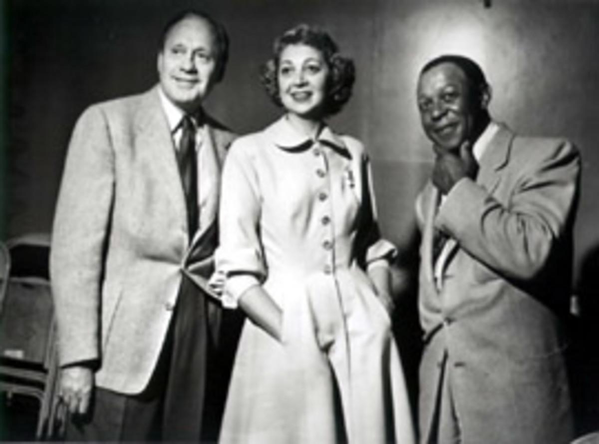 Jack Benny, Mary Livingstone, Eddie Anderson