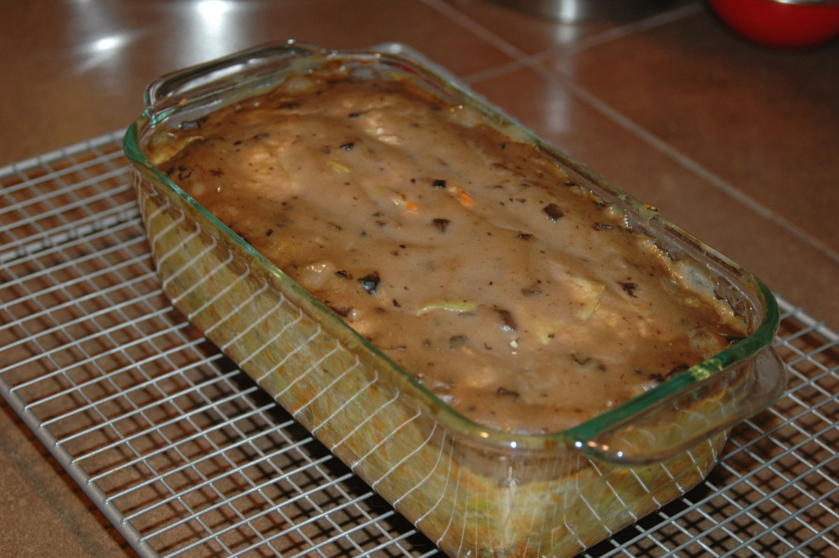 Quick And Easy Dinner Recipe: Vegetable Salmon Loaf Recipe