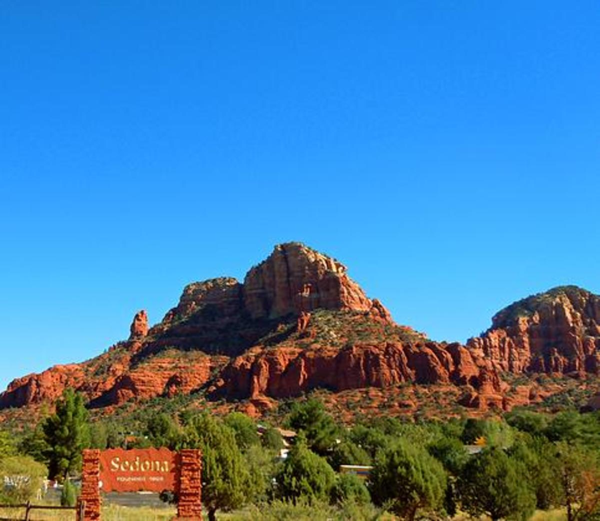 RV Travel, A Drive from Mesa to Sedona Arizona with photos.