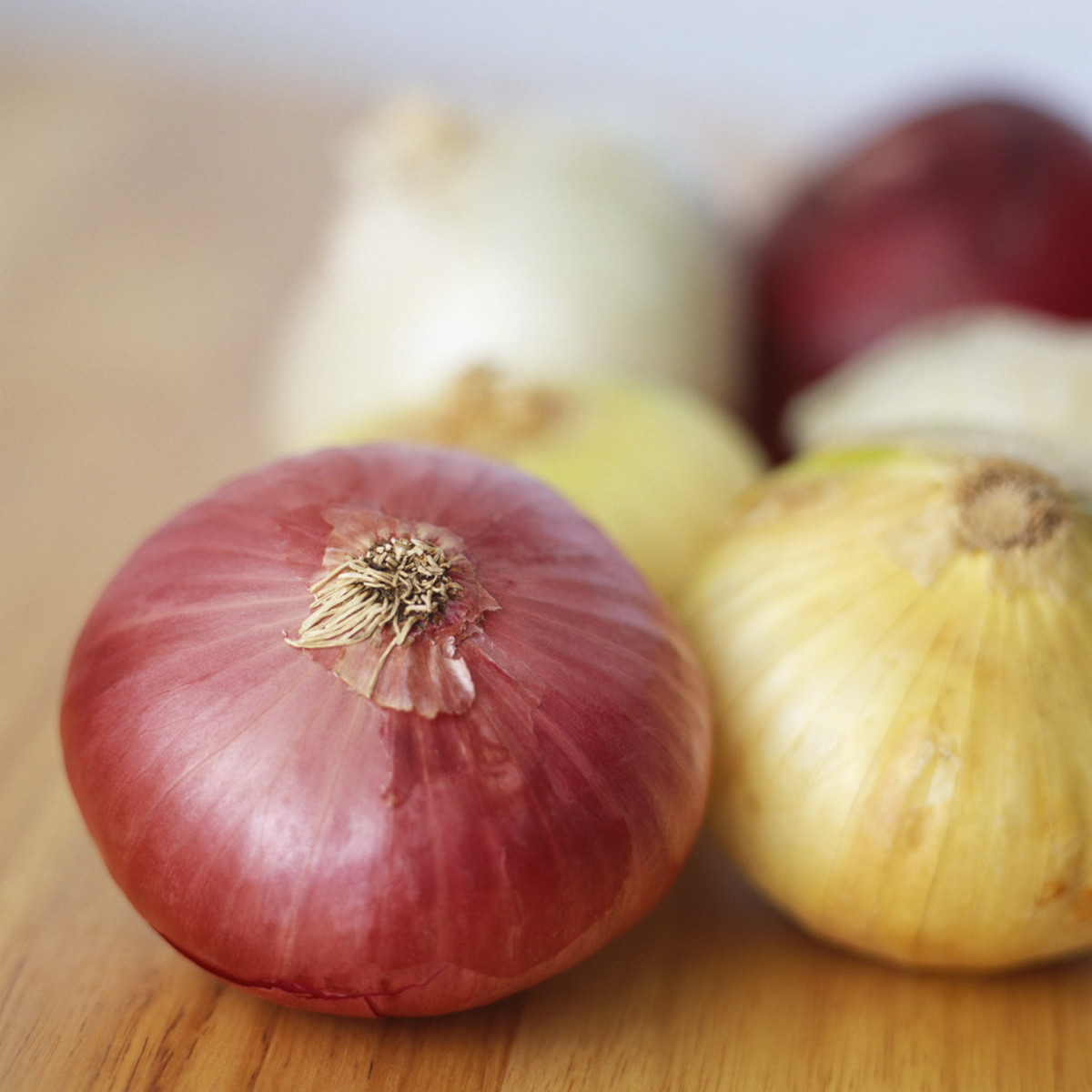 Red and white onins can help save a gravy mishap!