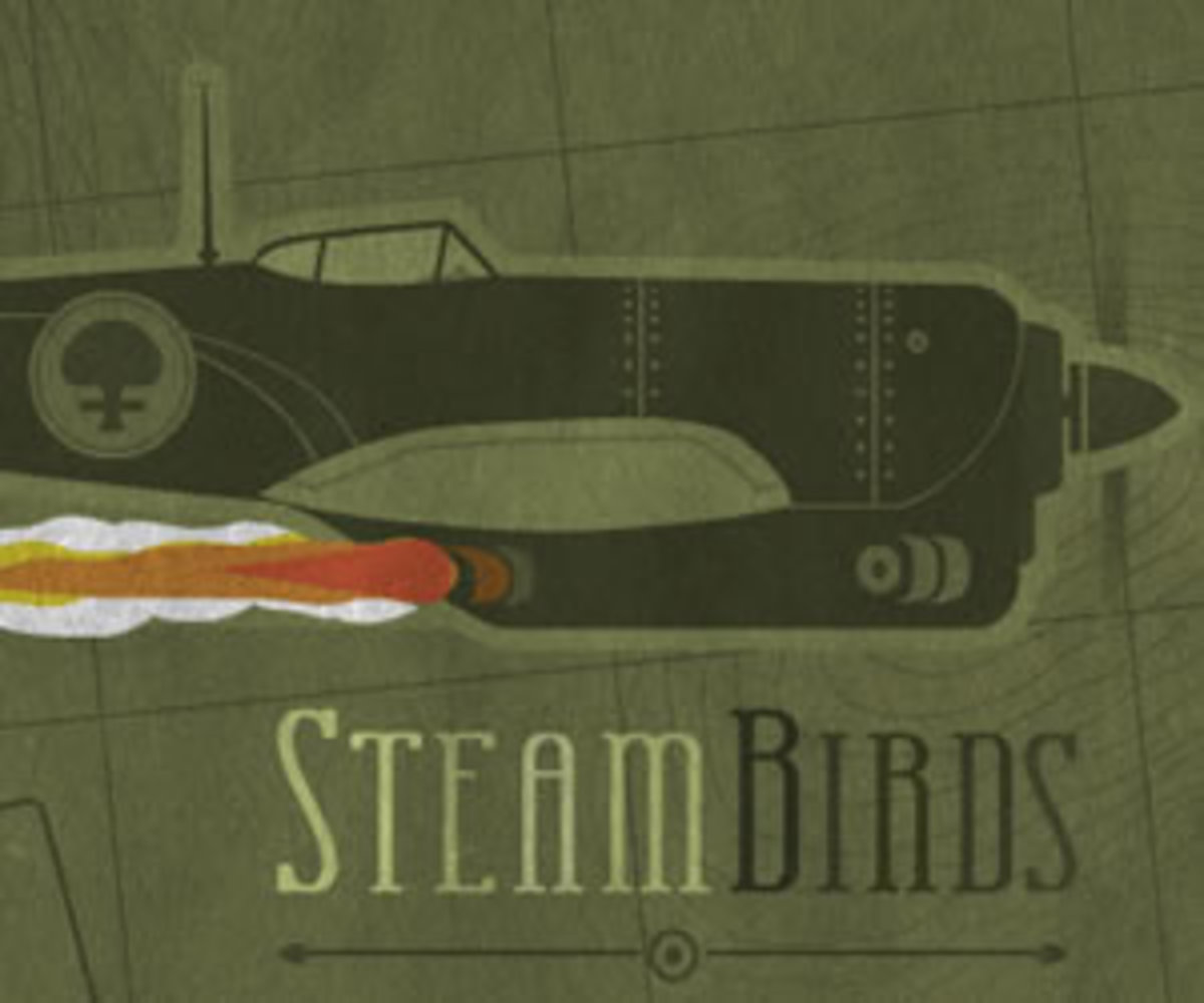 Steambirds Title Card