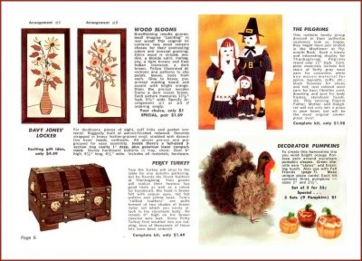 Thanksgiving In The Handcraft Institute Catalog