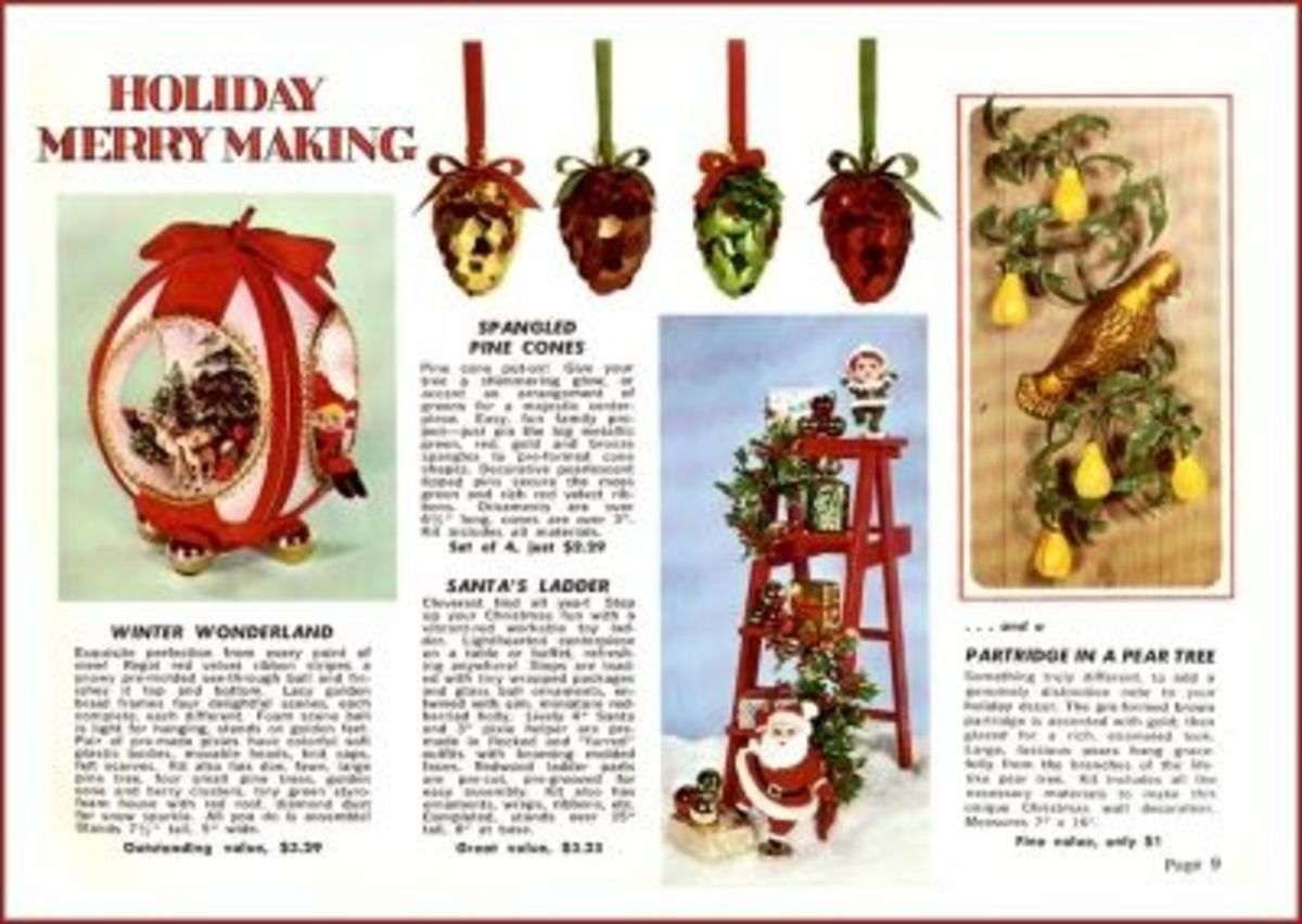 Christmas In The Handcraft Society Catalog