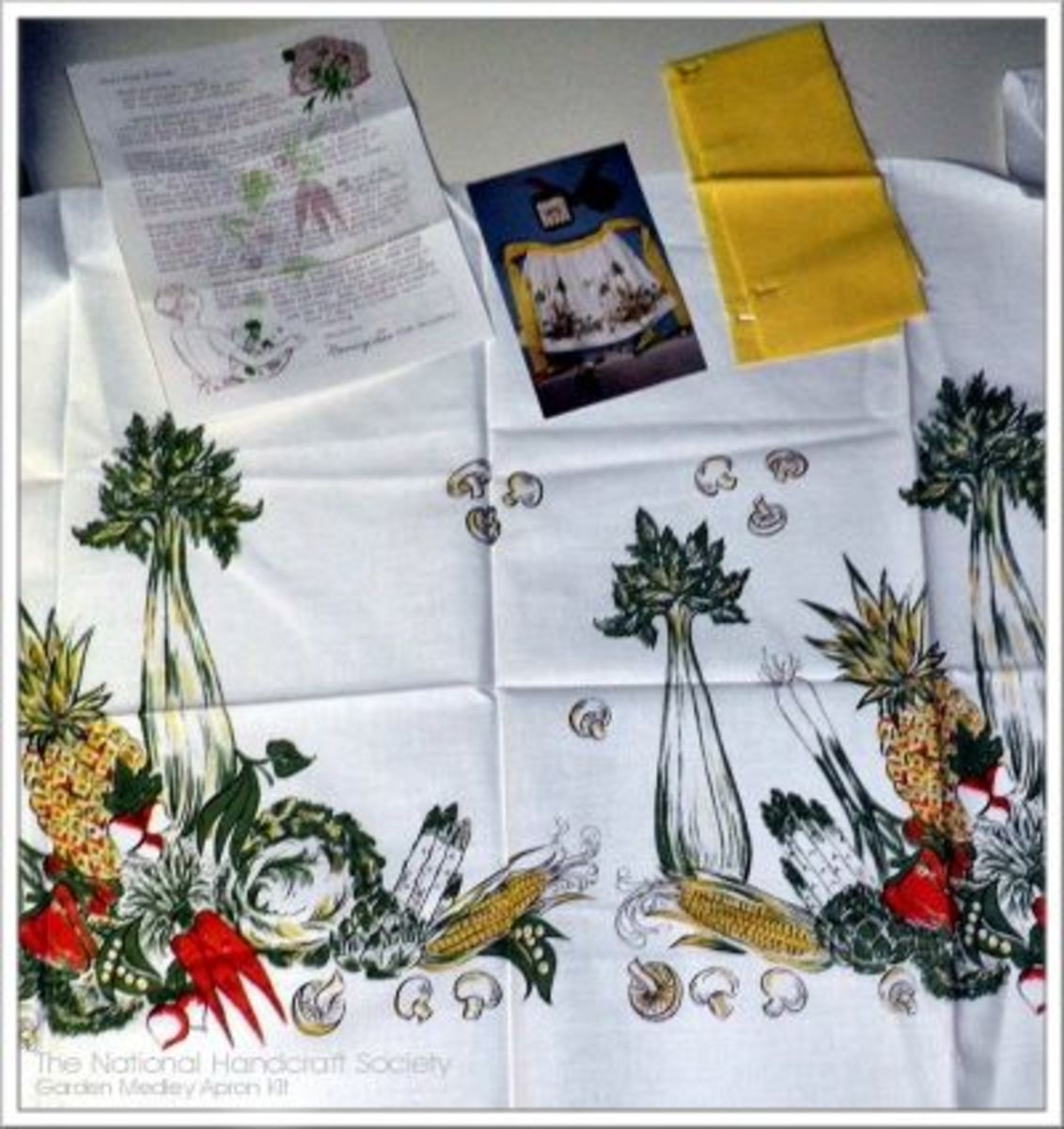 The Garden Medley Apron Kit