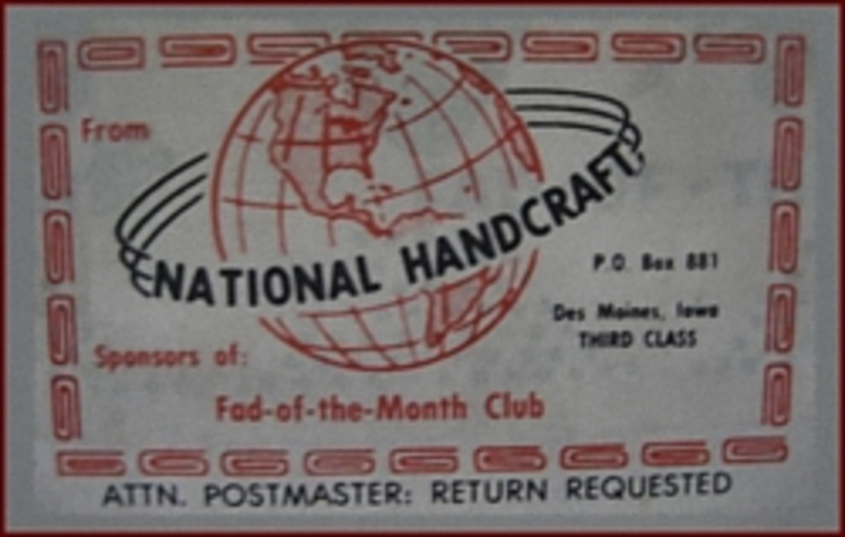 National Hand Craft Society - Shipping Label