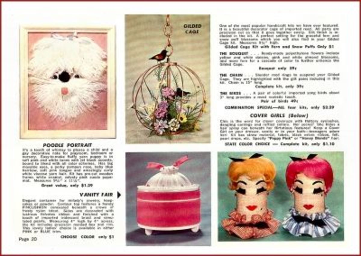 Fun Handcrafts From The Fad Of The Month