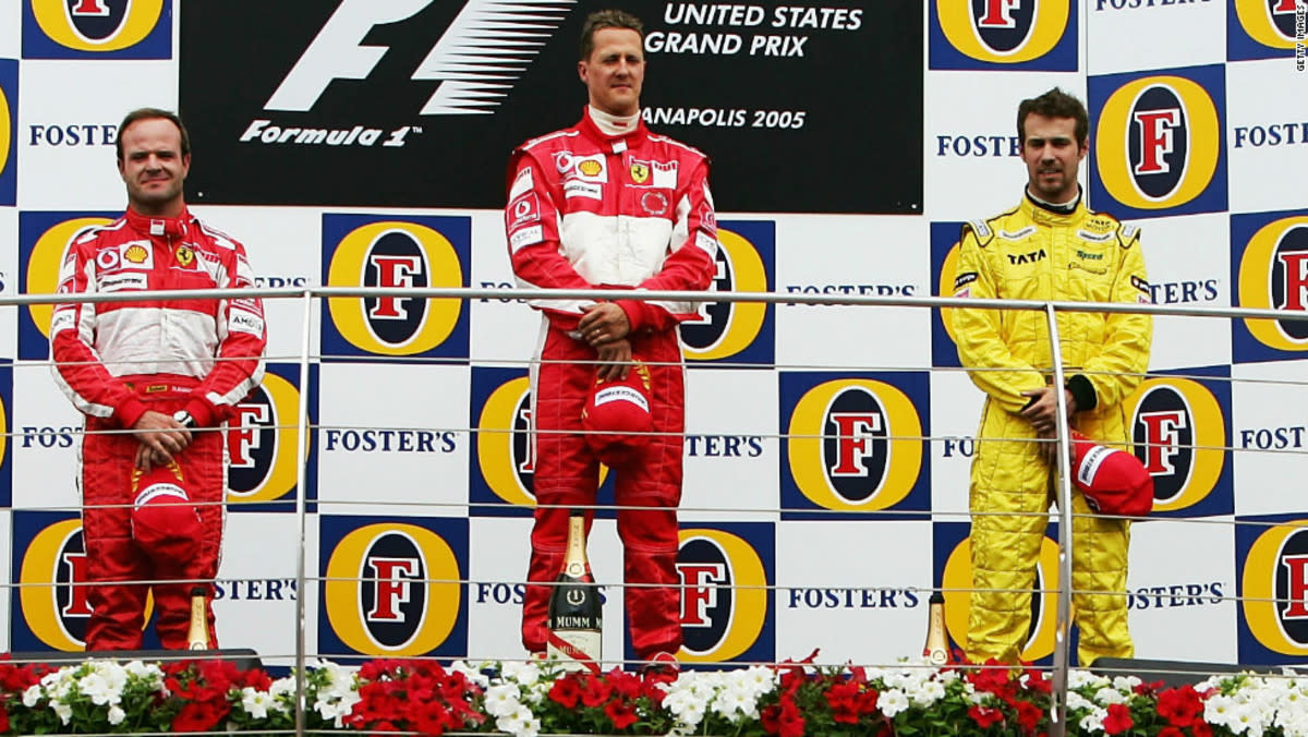 The 2005 United States GP: Michael Schumacher's 84th Career Win