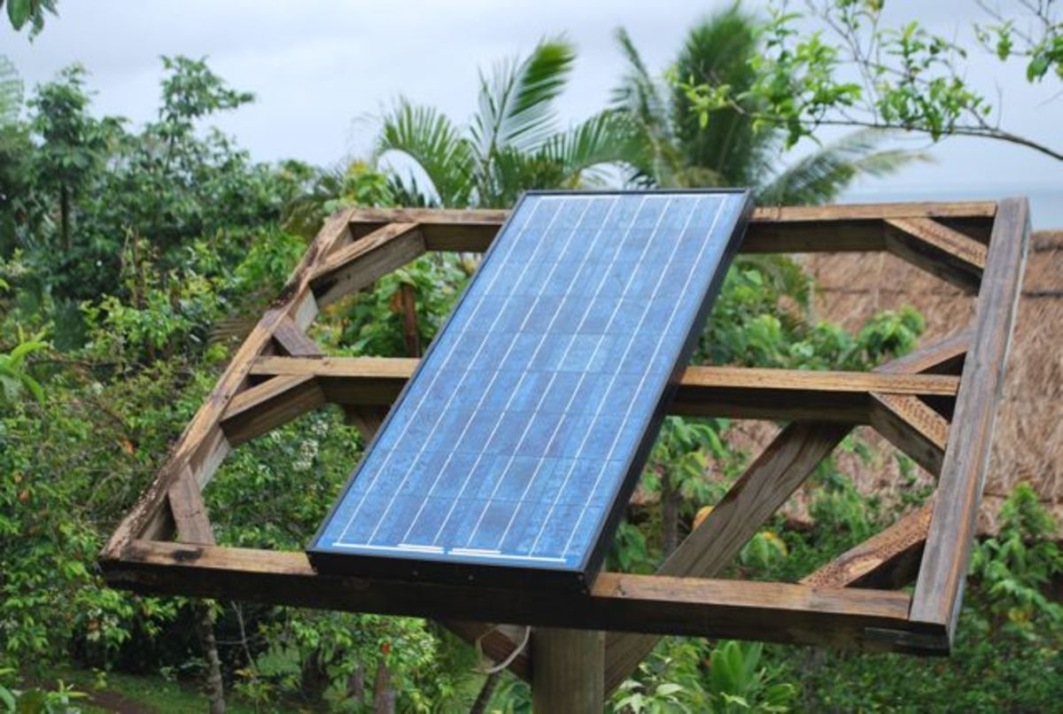 Solar panels power the operations at Matava Fiji's Premier Eco Resort