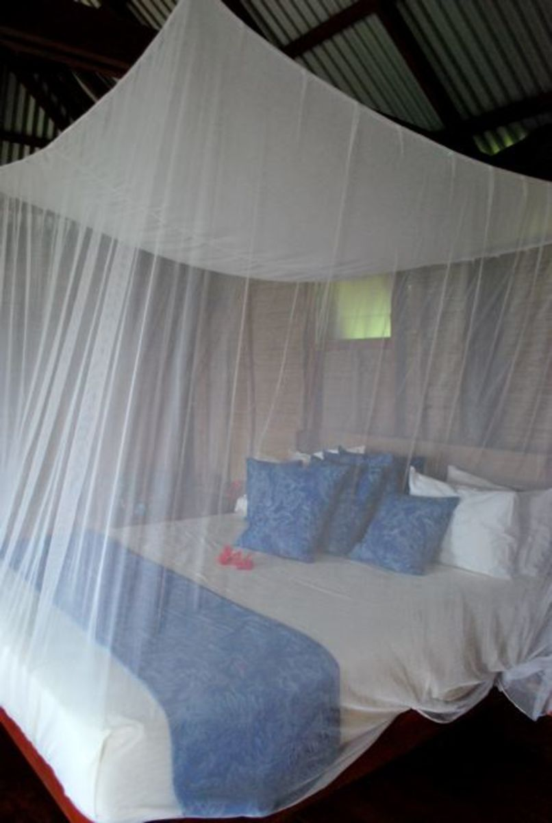 Comfortable beds at Matava Fiji's Premier Eco Resort