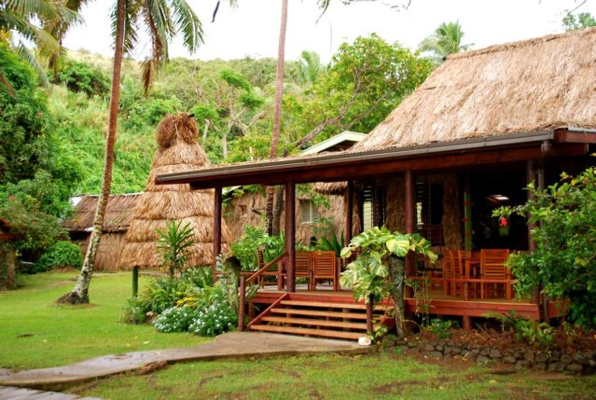 Front of Matava Fiji's Premier Eco Resort