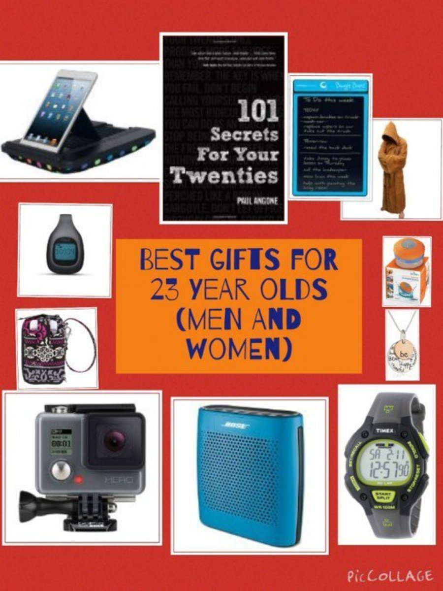 Birthday and Christmas Gift Ideas for 23 Year Olds (Men and Women)