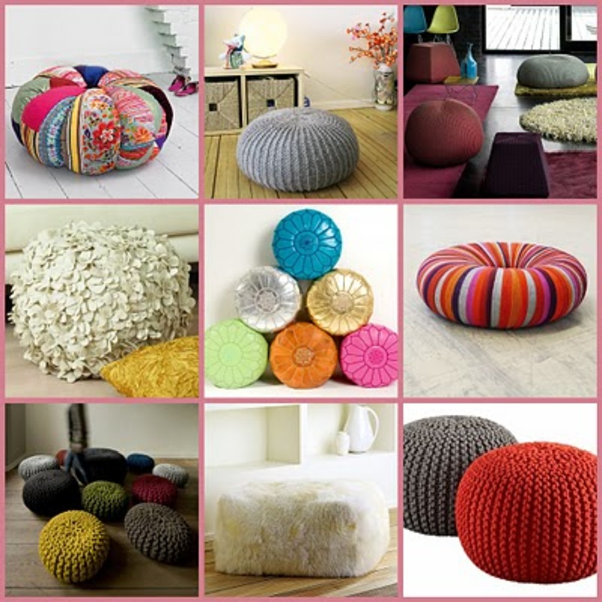 How To Make Bean Bags, Pillow Chairs & Floor Cushions ...