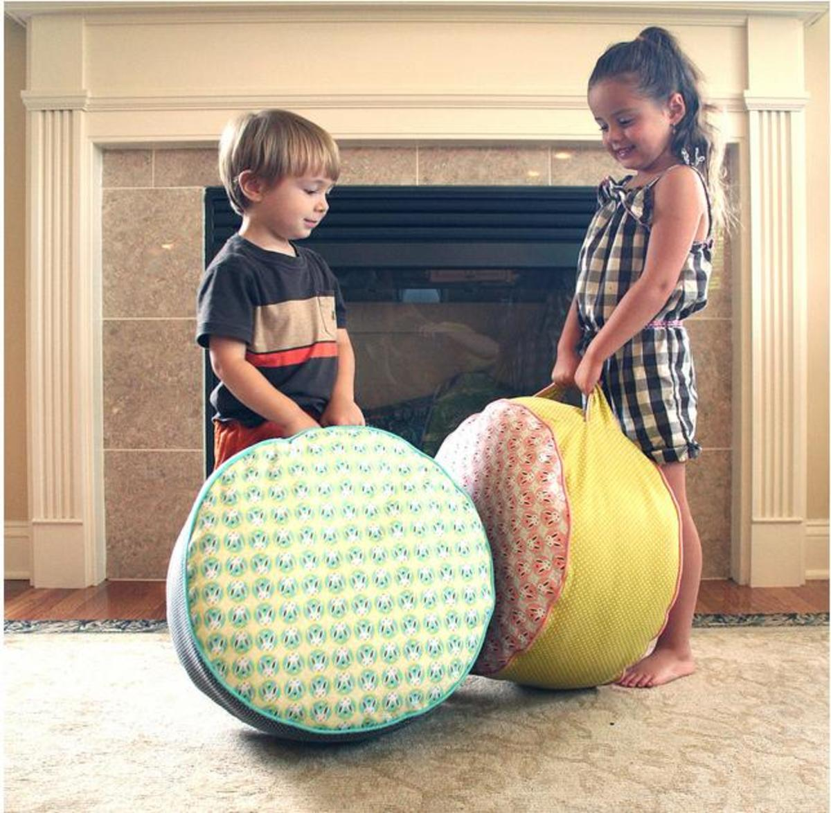 How To Make Bean Bags Pillow Chairs Amp Floor Cushions