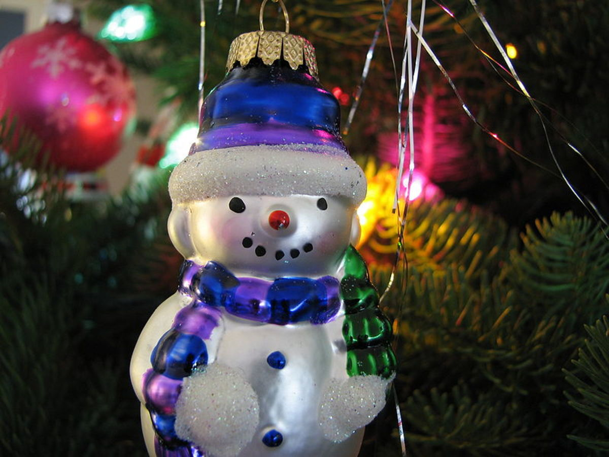 Snowmen Ornaments ~ Christmas Tree Decorations ~ Frosty the Snowman