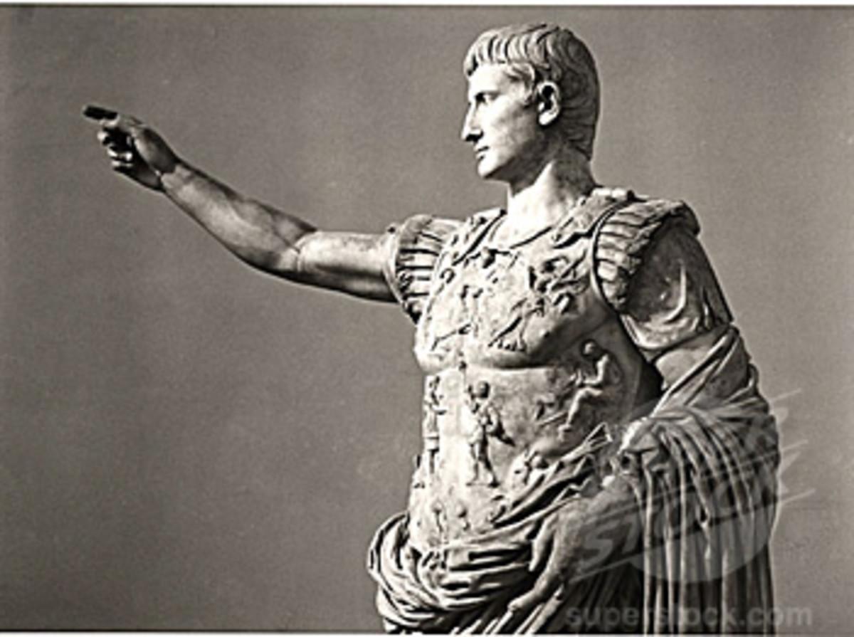 Octavian (Emperor Augustus) 63 B.C. - 14 A.D.
