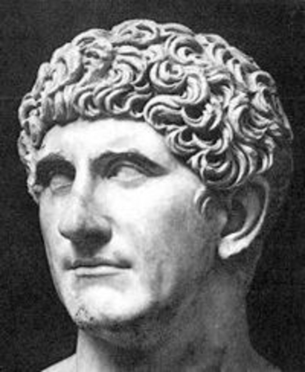 Marcus Antonius (Mark Antony) 83 - 30 B.C.