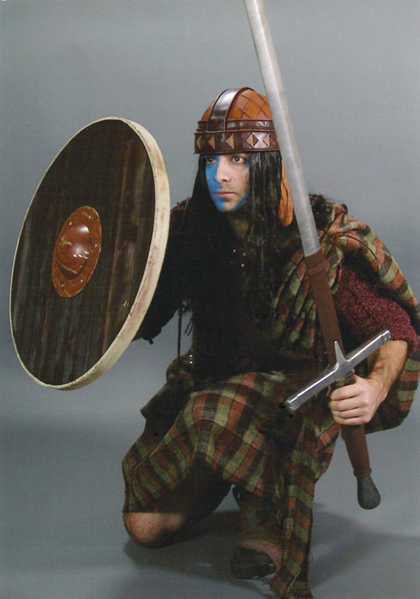 Scottish clansman's attire of 1296
