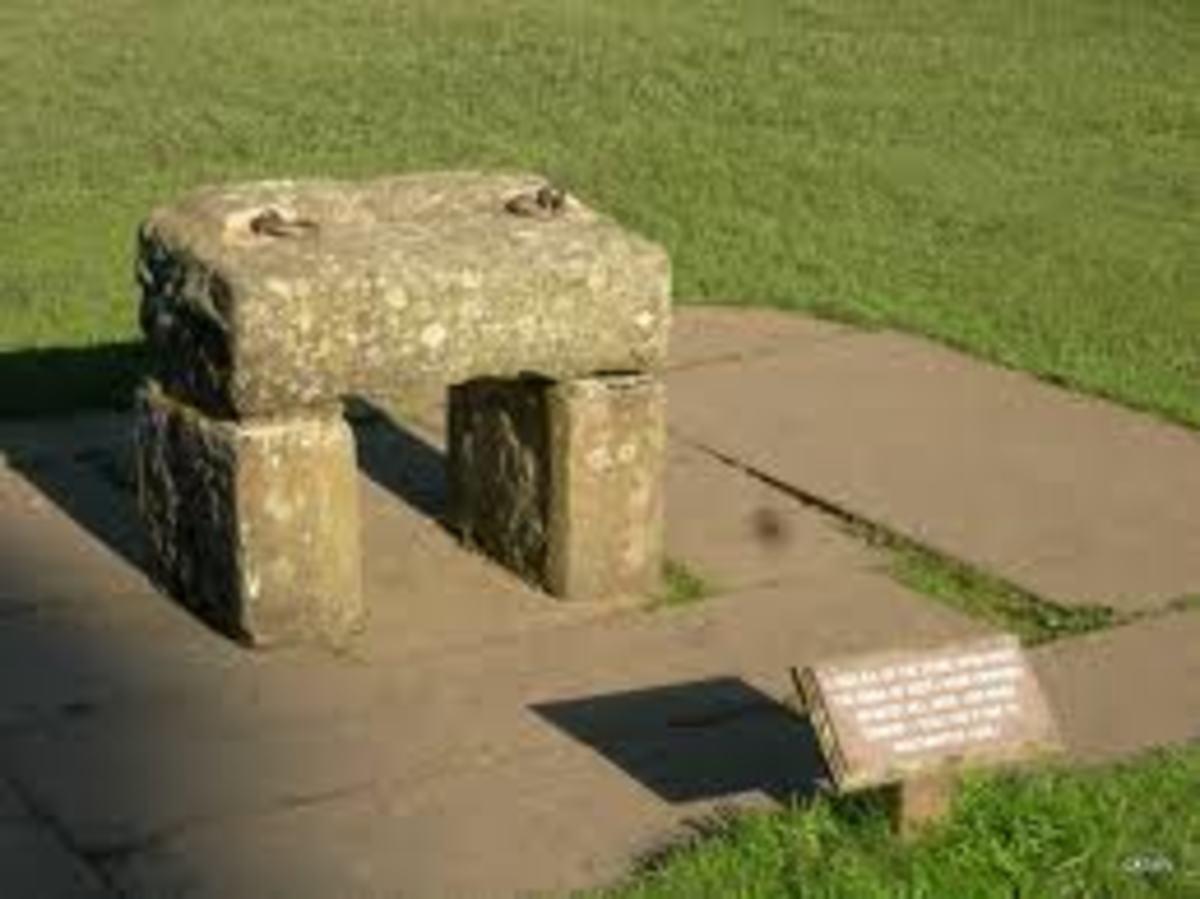 The Scottish Stone of Destiny