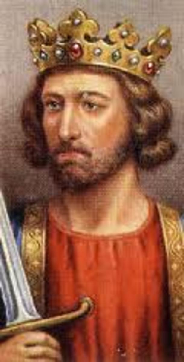 King Edward 1st of England