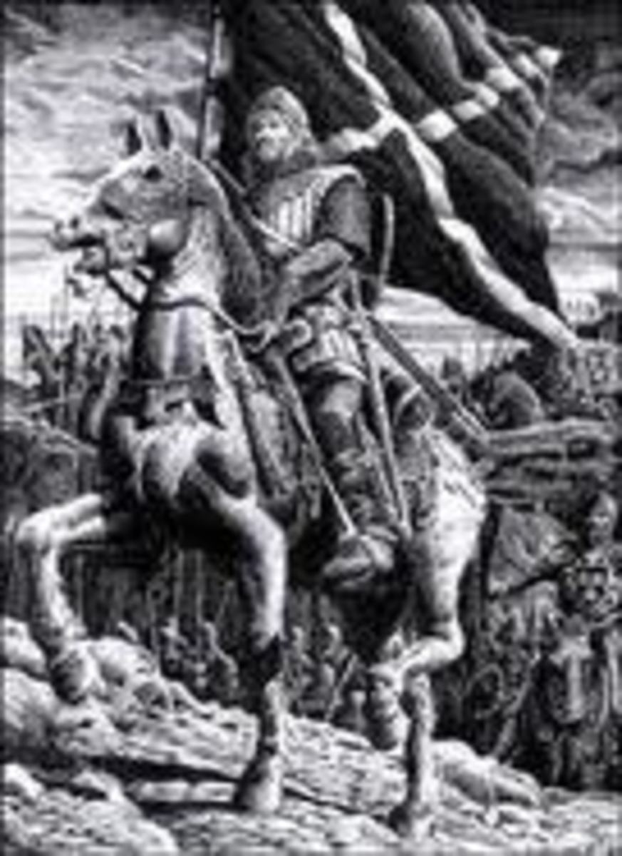 Depiction of William Wallace