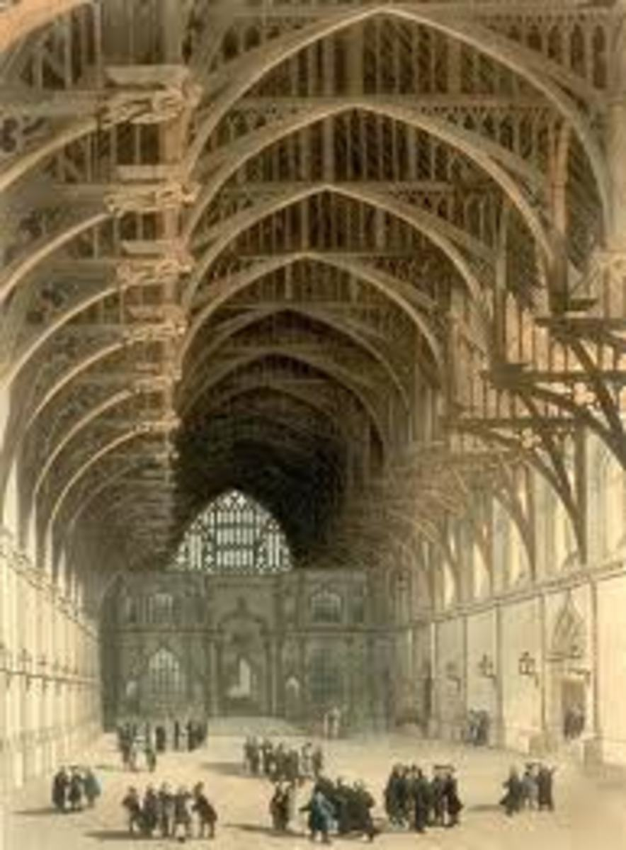 The Royal Palace of Westminster, 1305