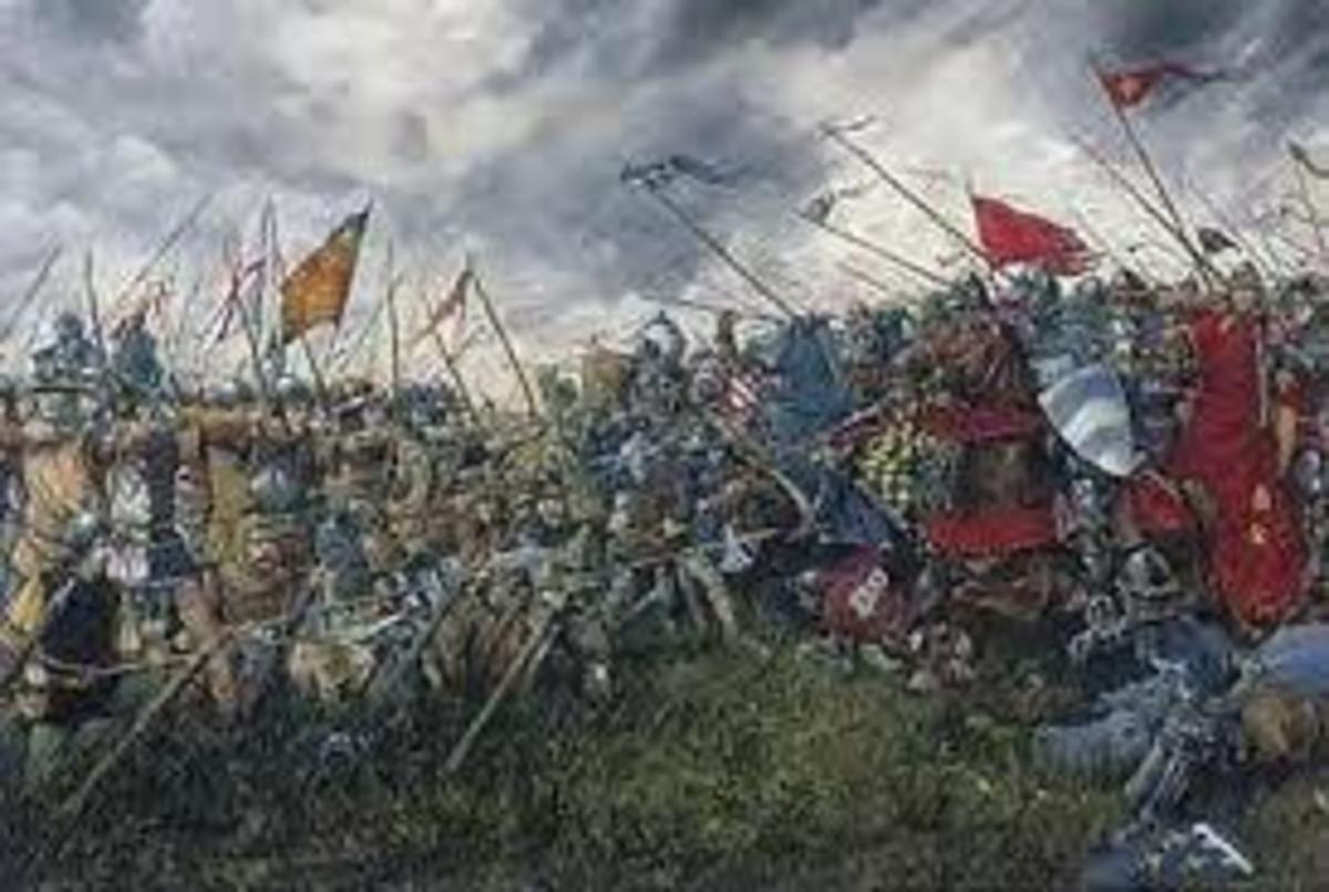 The Battle of Falkirk, 1298