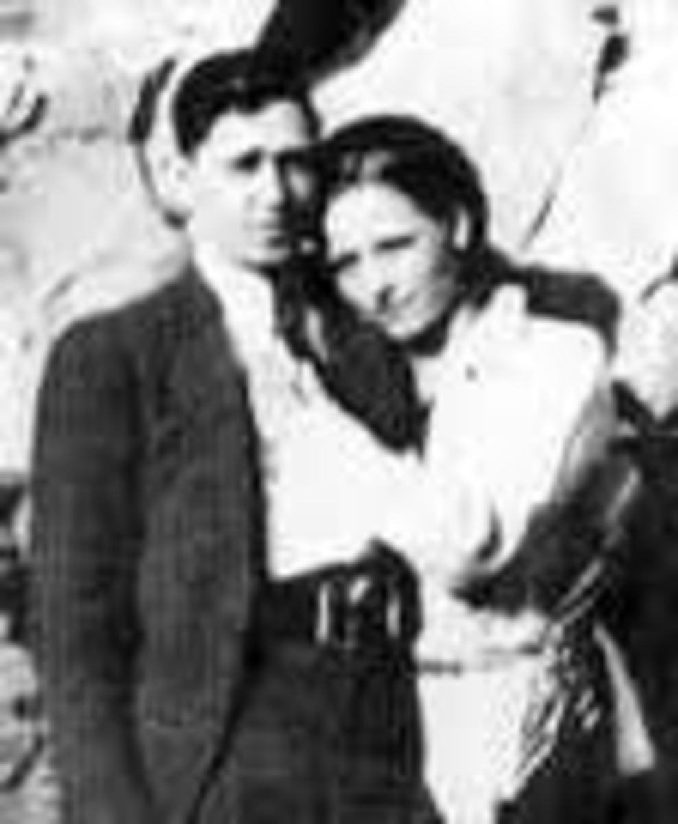 Clyde and Bonnie 1934