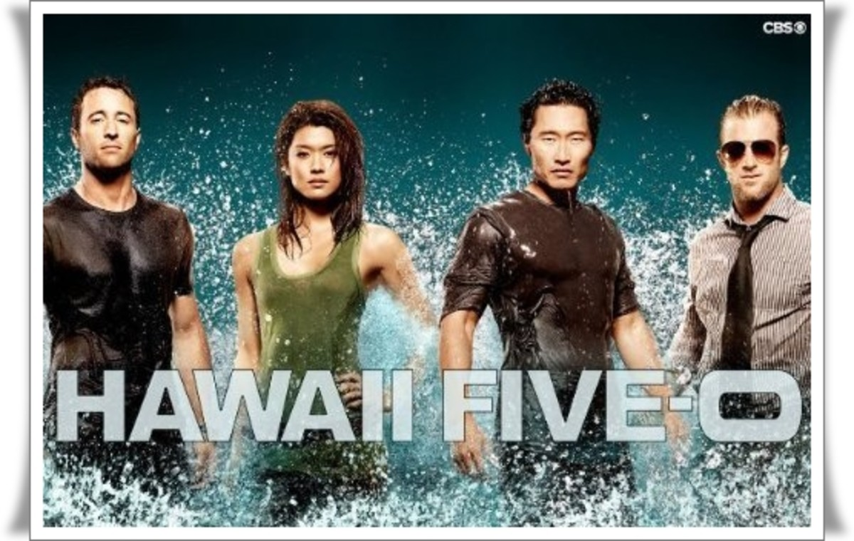 "Alex O'Loughlin as Lieutenant Commander Steve McGarrett, Grace Park as Detective Kono Kalakaua, Daniel Dae Kim as Detective Chin Ho Kelly, and Scott Caan as Detective Danny ""Danno"" Williams"