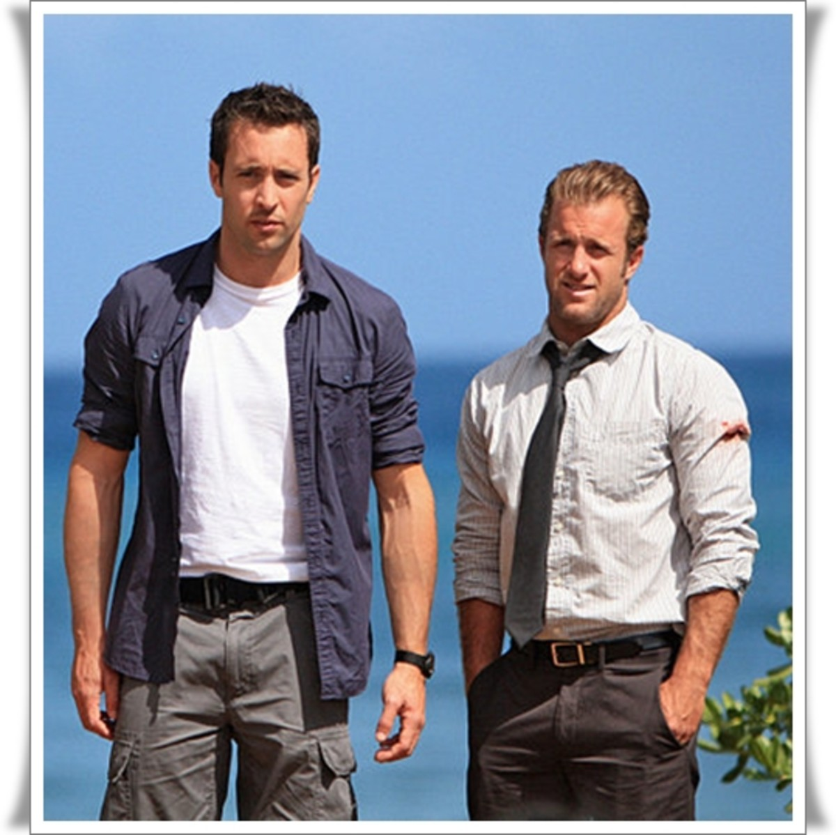 "Alex O'Loughlin Steve McGarrett, Scott Caan - the new Steve McGarrett and  Detective Danny ""Danno"" Williams"