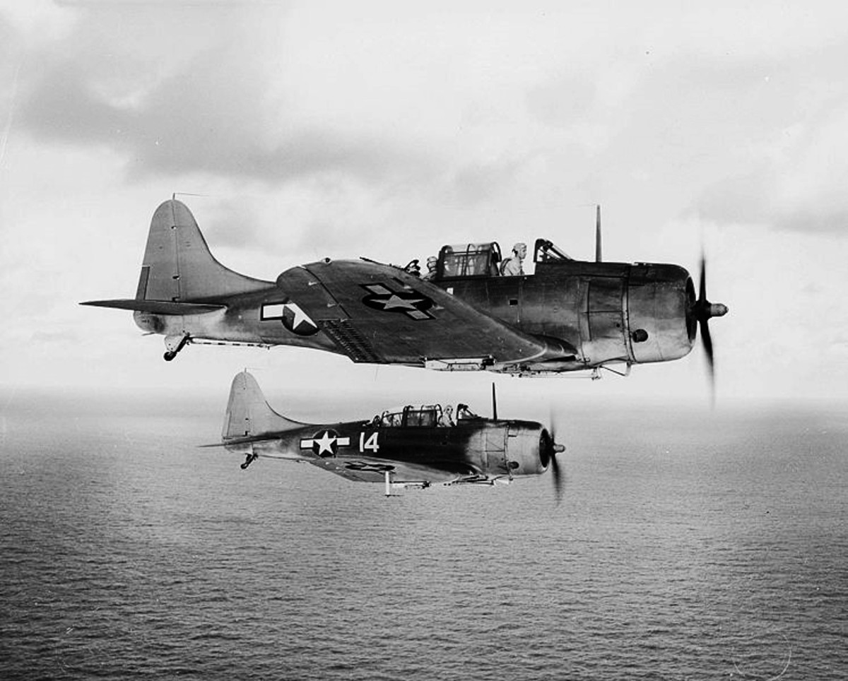 The Douglas SBD Dauntless