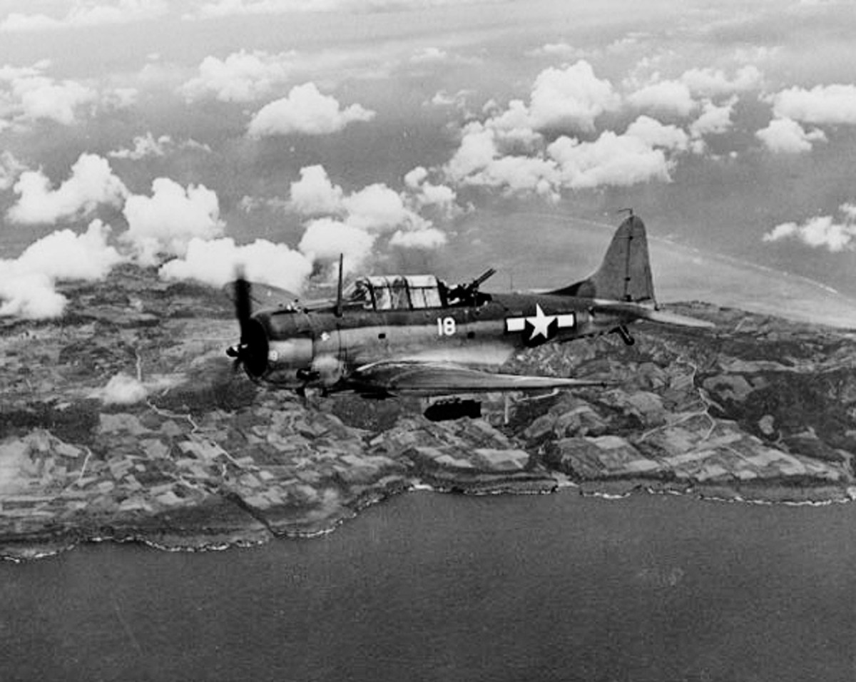 History of the Douglas SBD Dauntless
