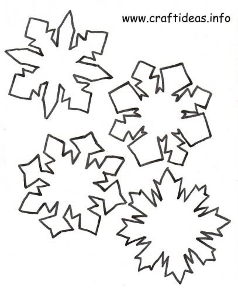 free snowflake patterns