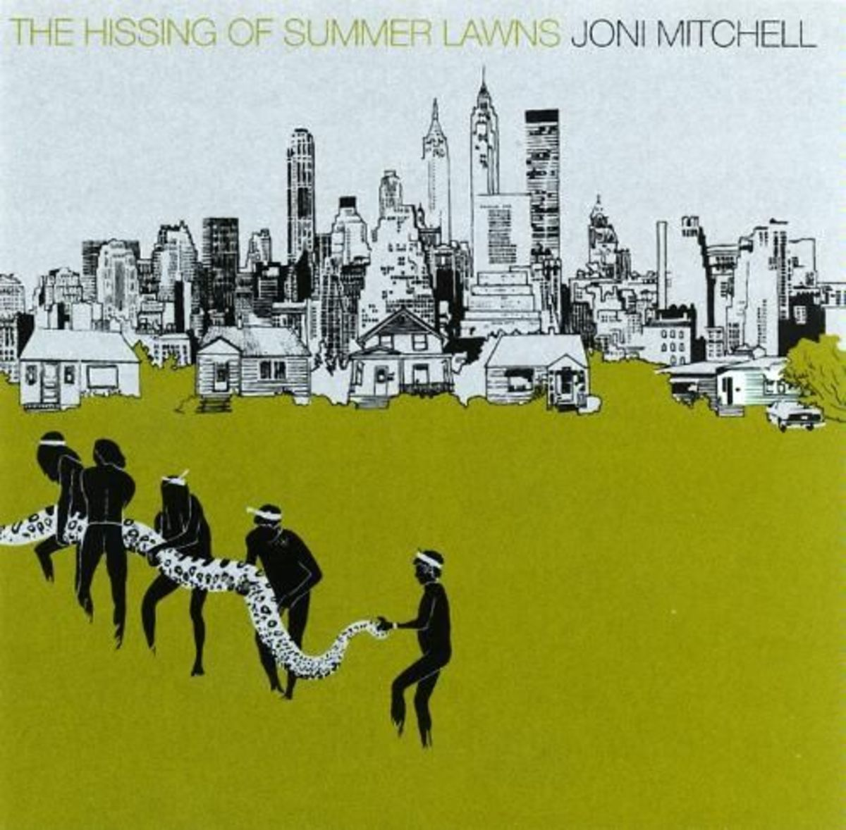 Hissing Of Summer Lawns Joni MItchell best albums #7