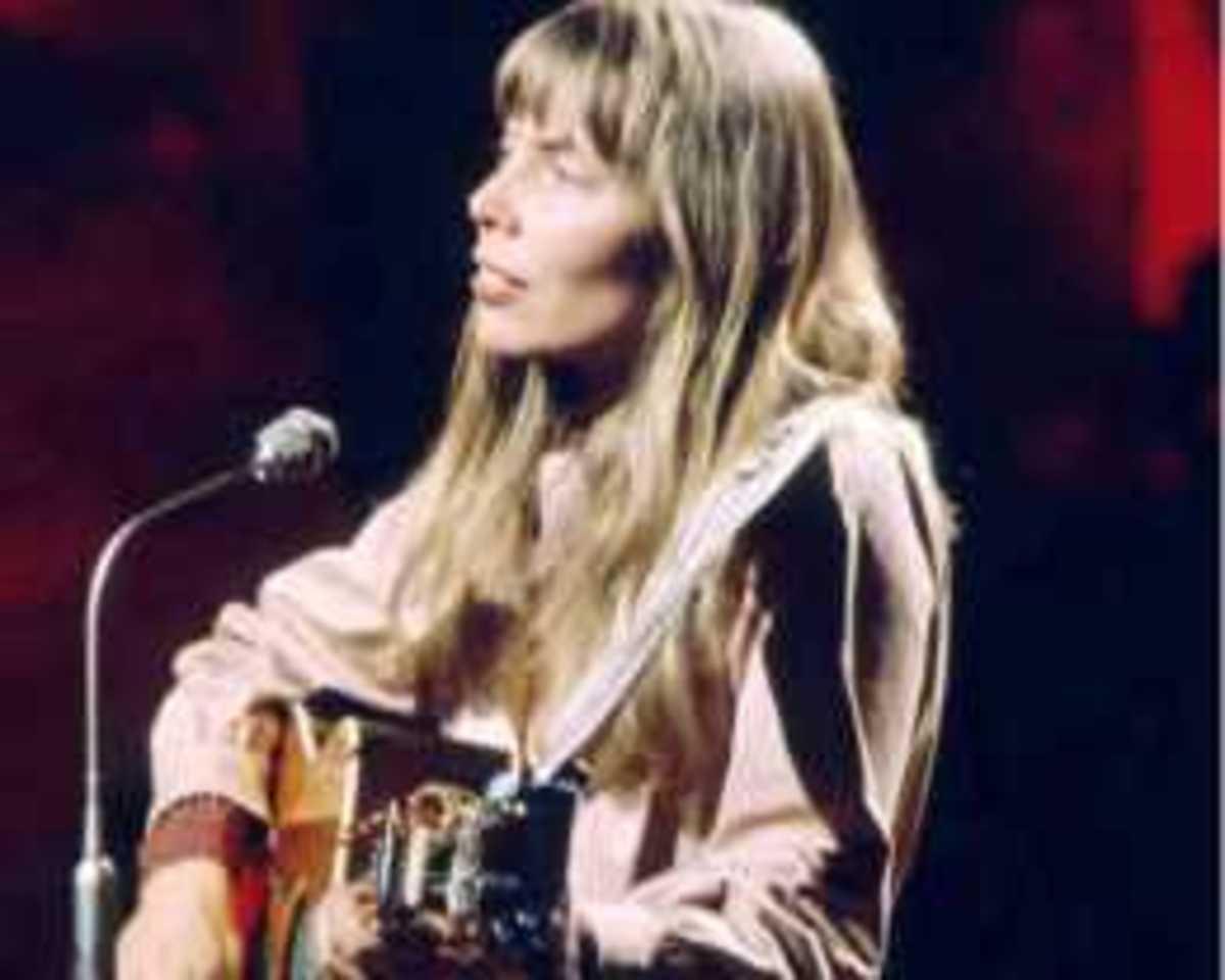 Joni Mitchell: Ten Best Albums