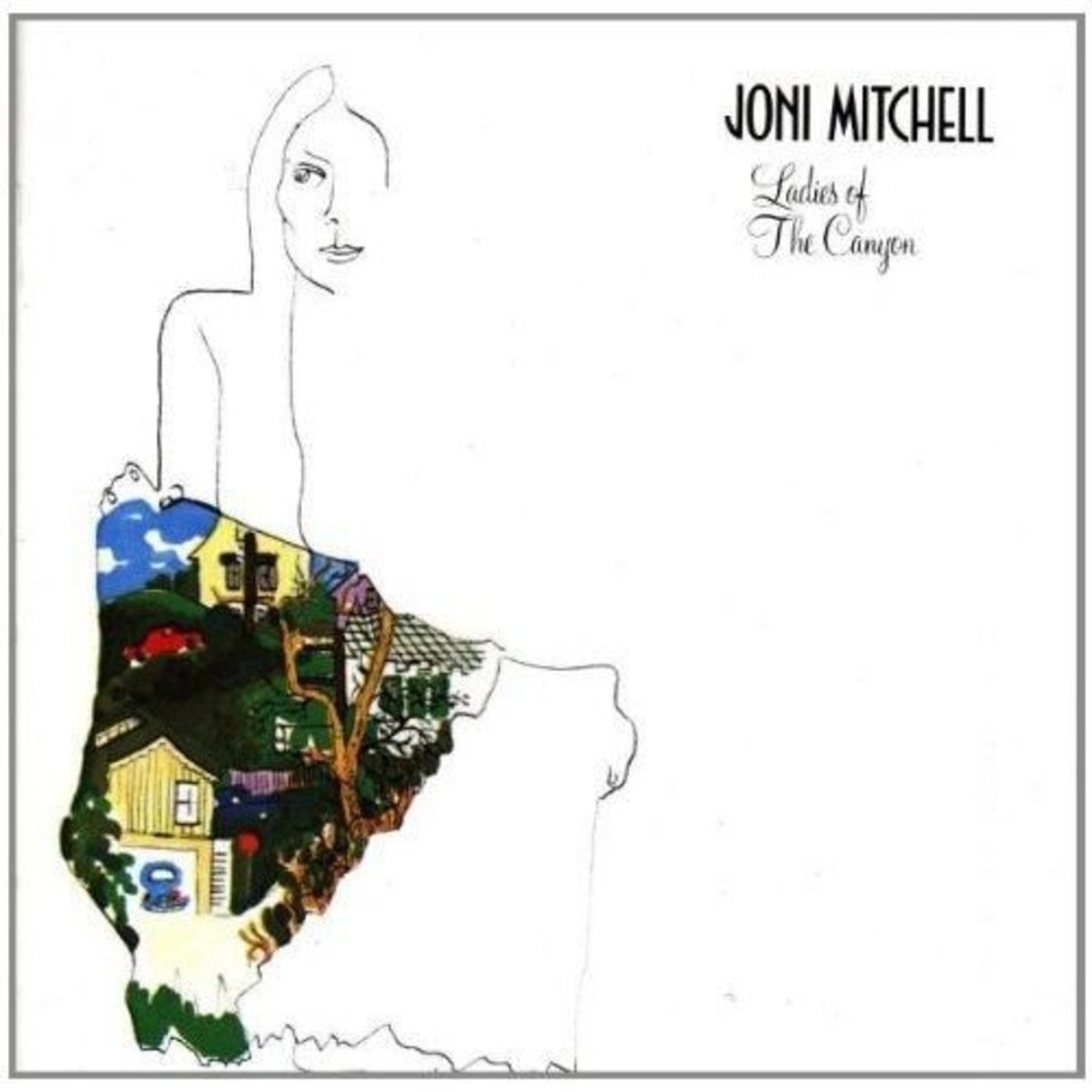 Ladies Of The Canyon joni mitchell