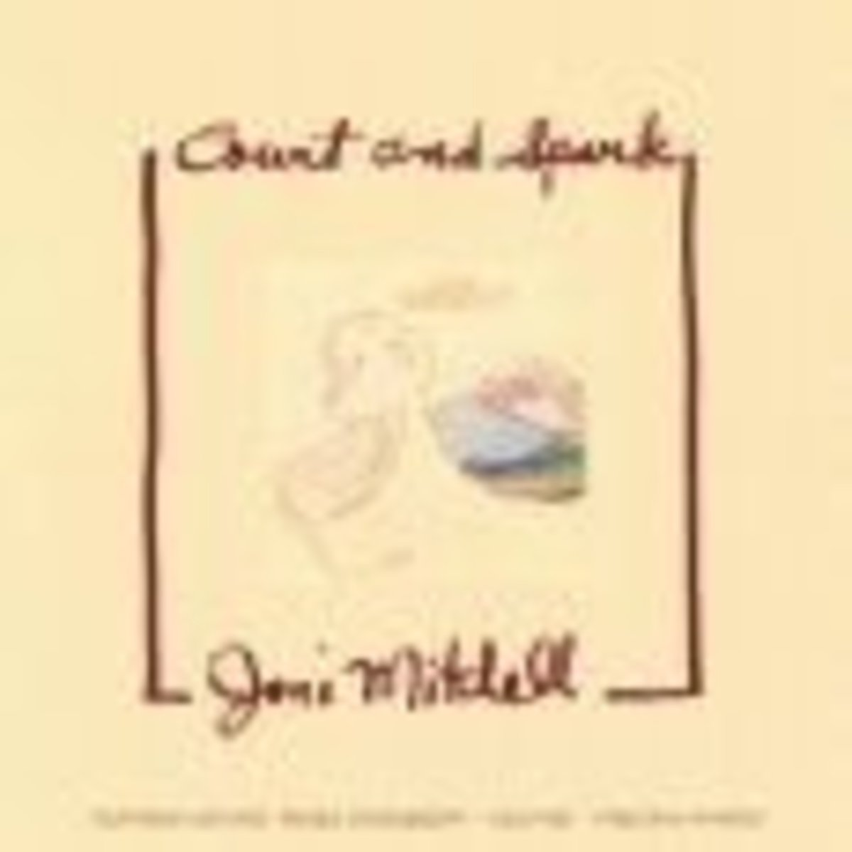 Joni MItchell Court And Spark