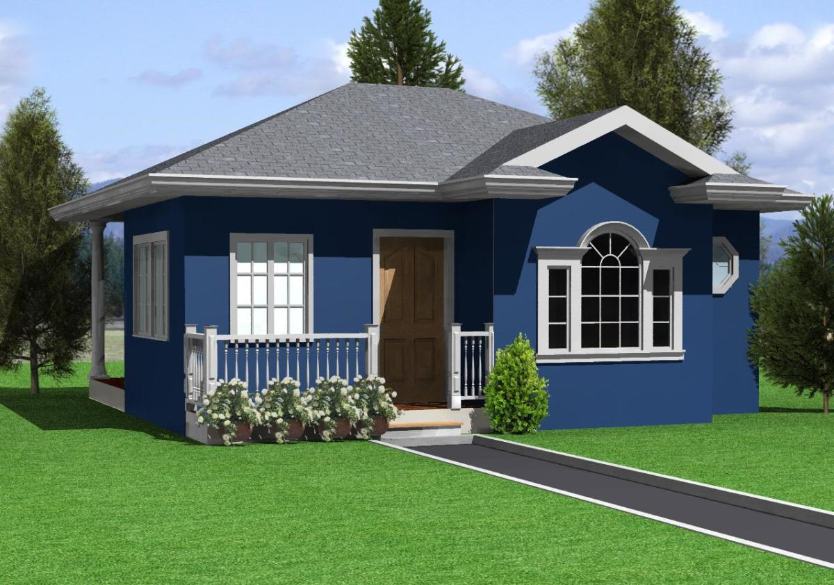 House Design-Hernanie Ocean Blue