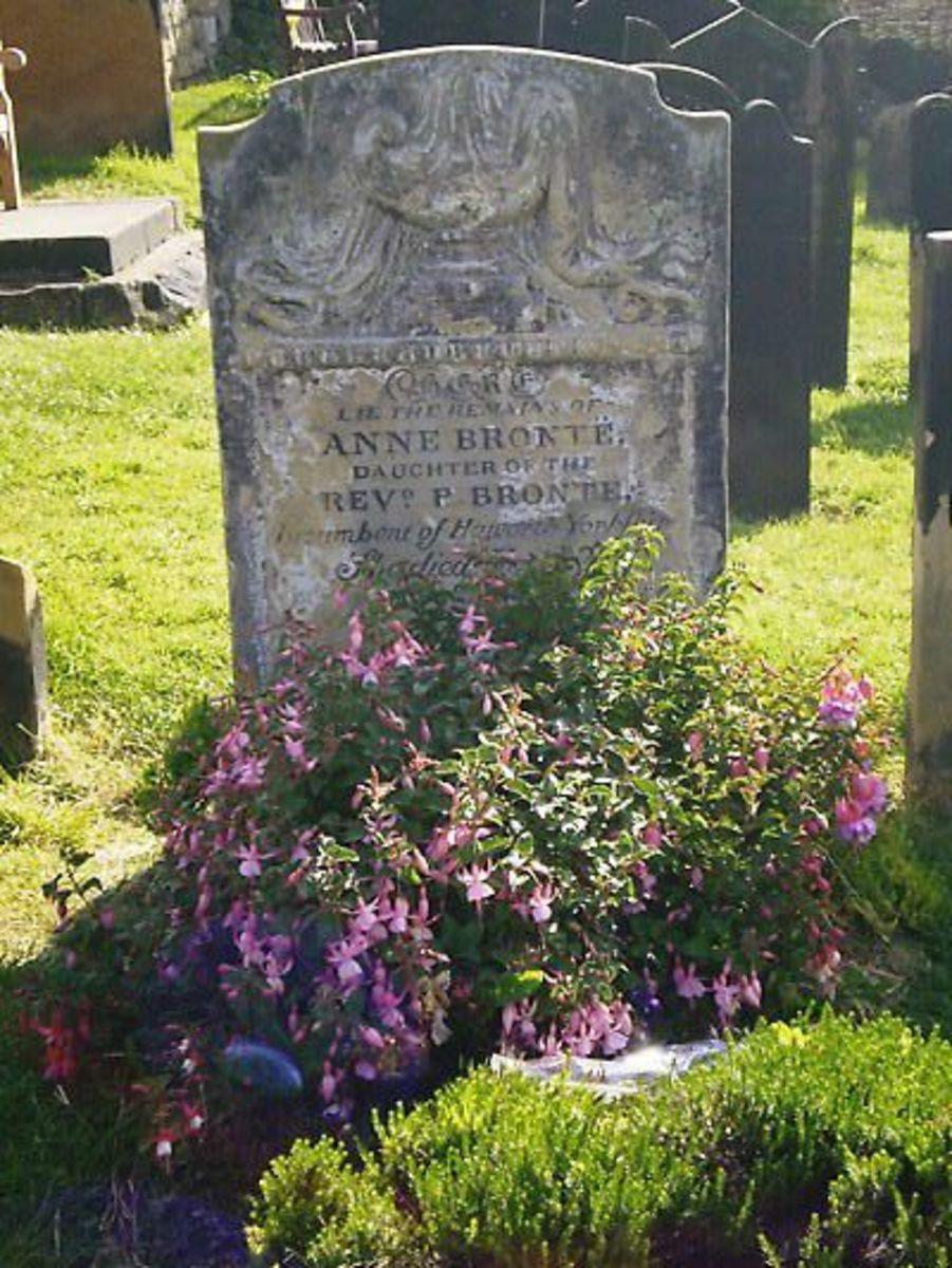 Anne Bronte's grave, Scarborough