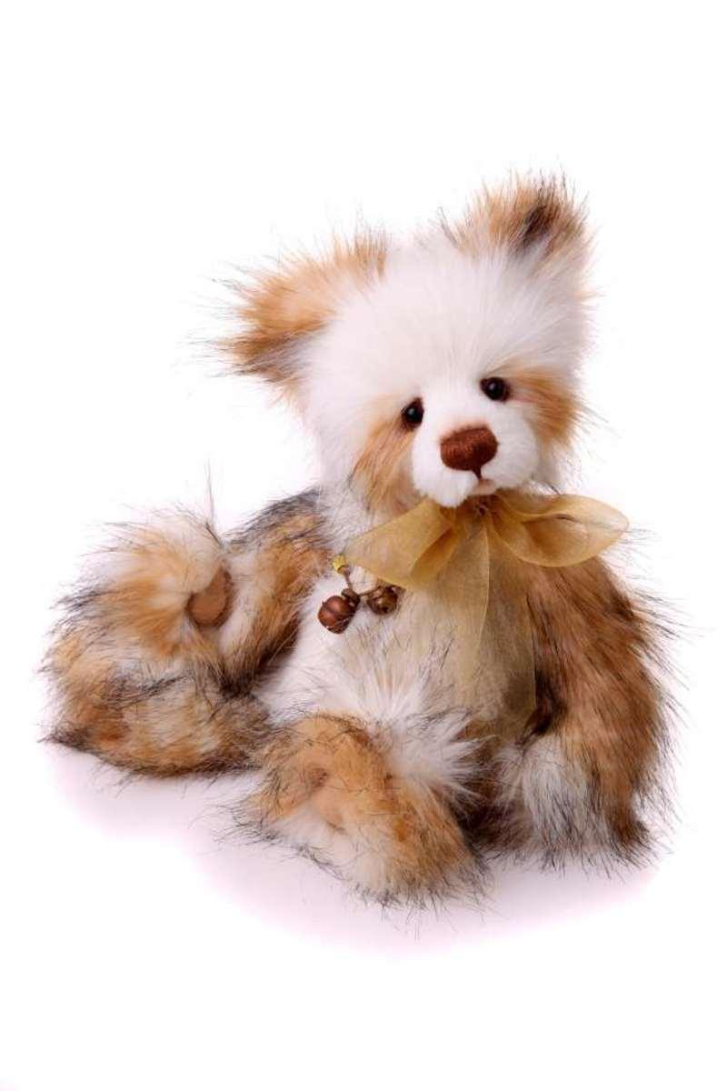 'Lauren' is a delightfully fluffy bear