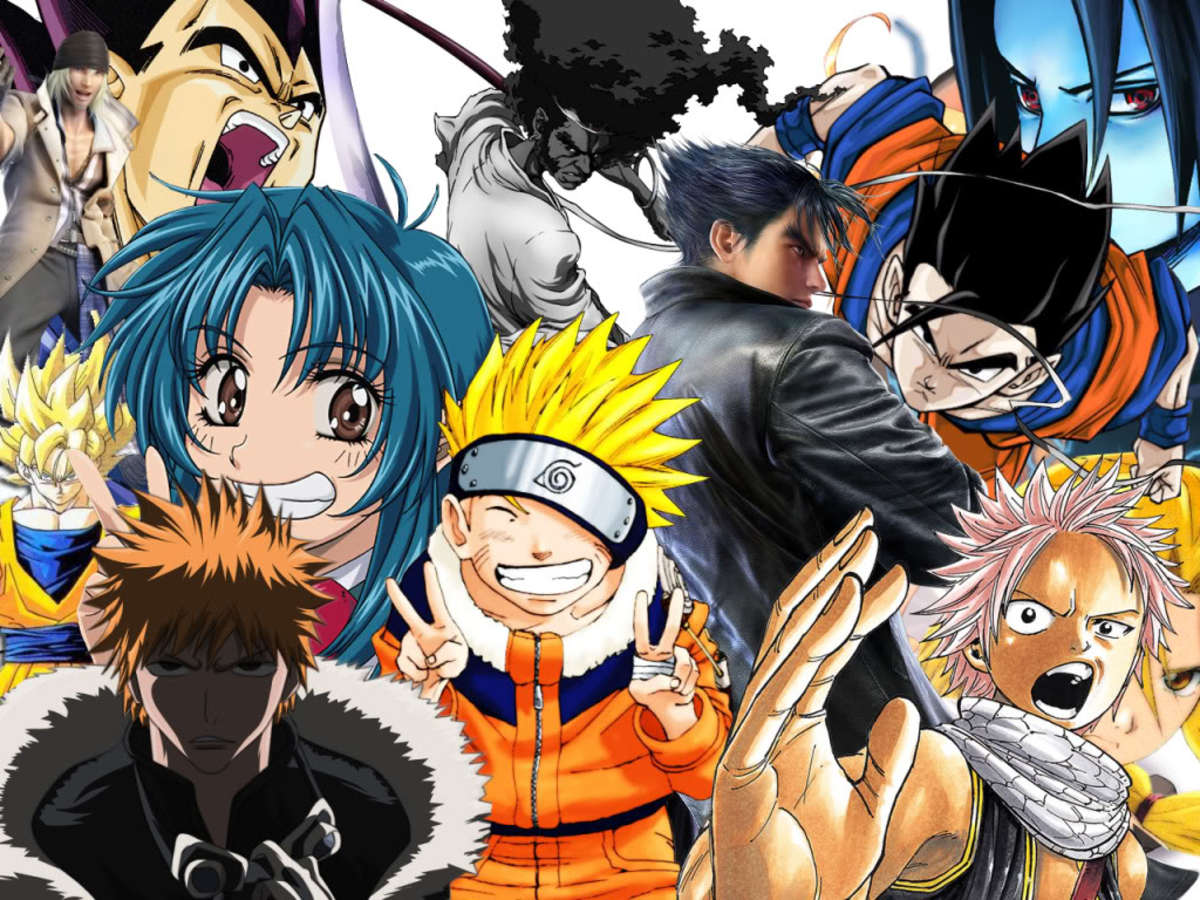 Anime Characters Are Japanese : The history of anime japanese animation hubpages