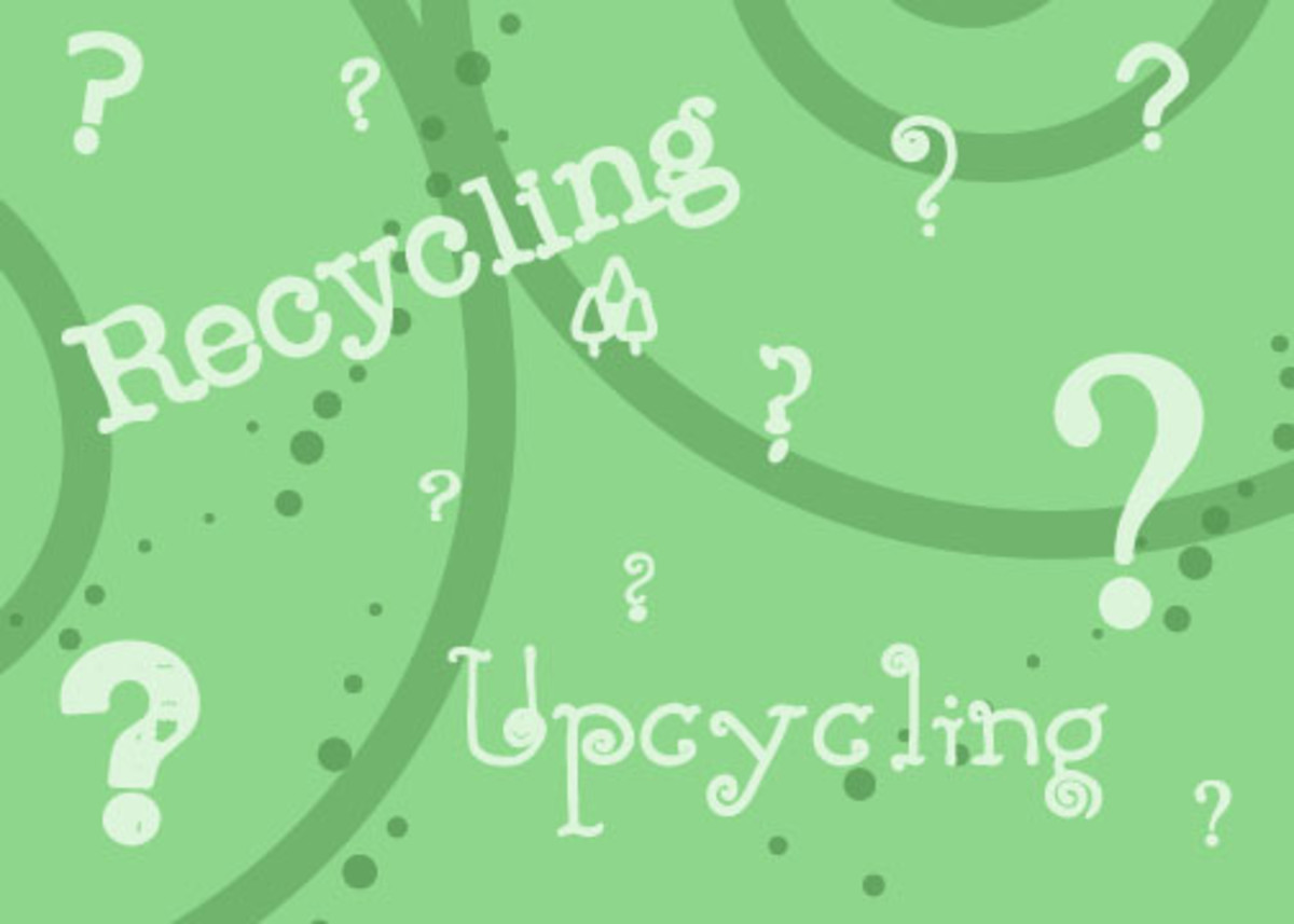 Recycle or Upcycle- What's the Difference?