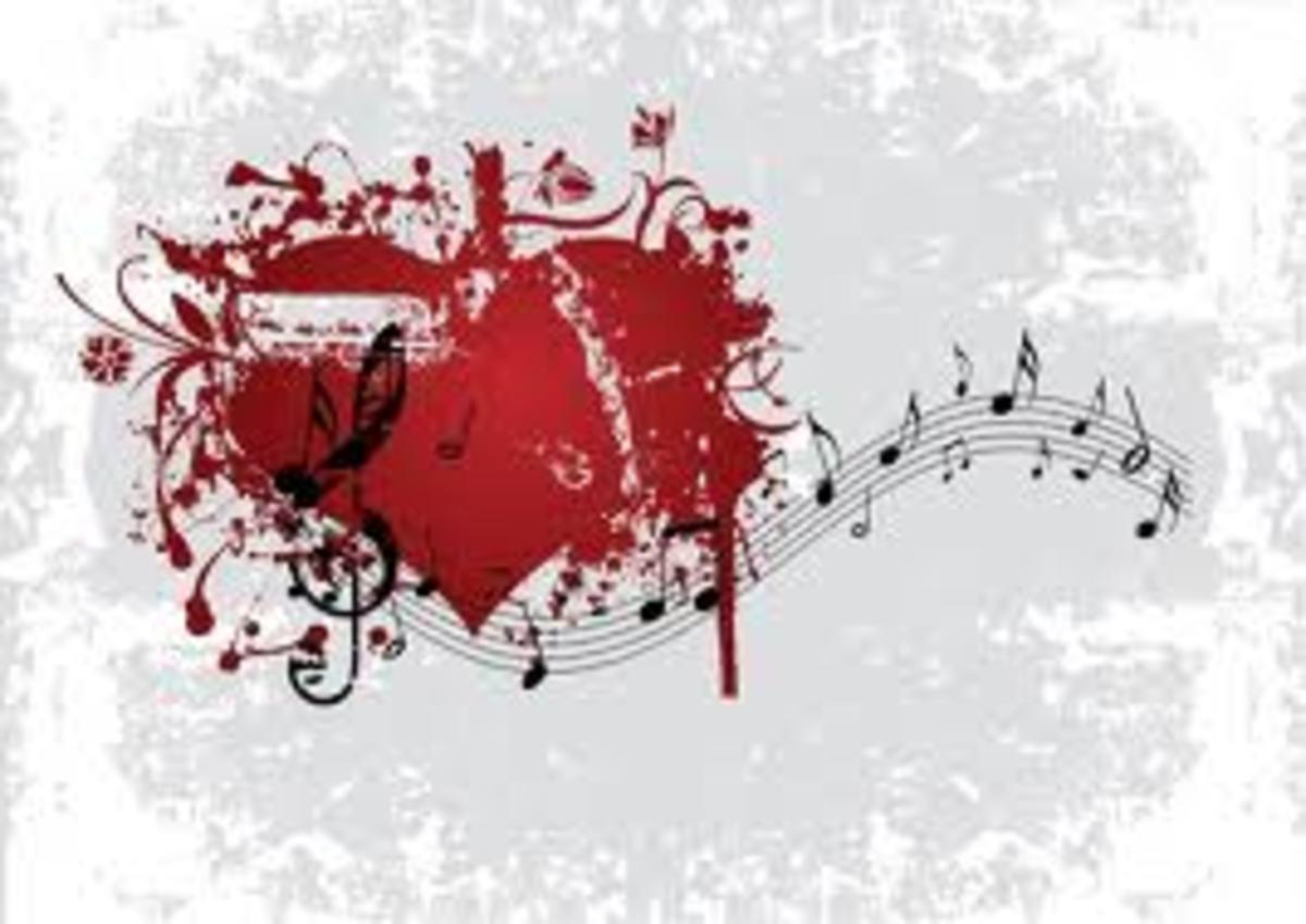 Crazy, crazy love songs