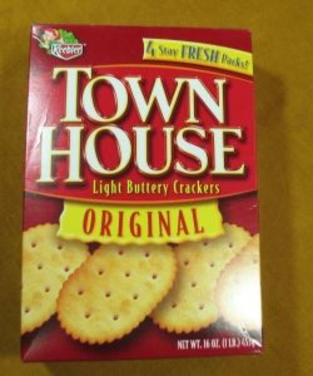 Keebler Townhouse Crackers are a Soft Cracker!