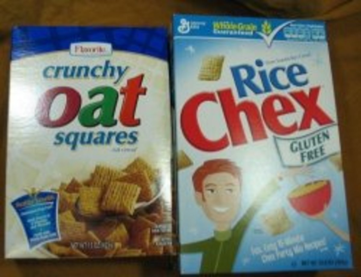 Cereal that become soft in milk!