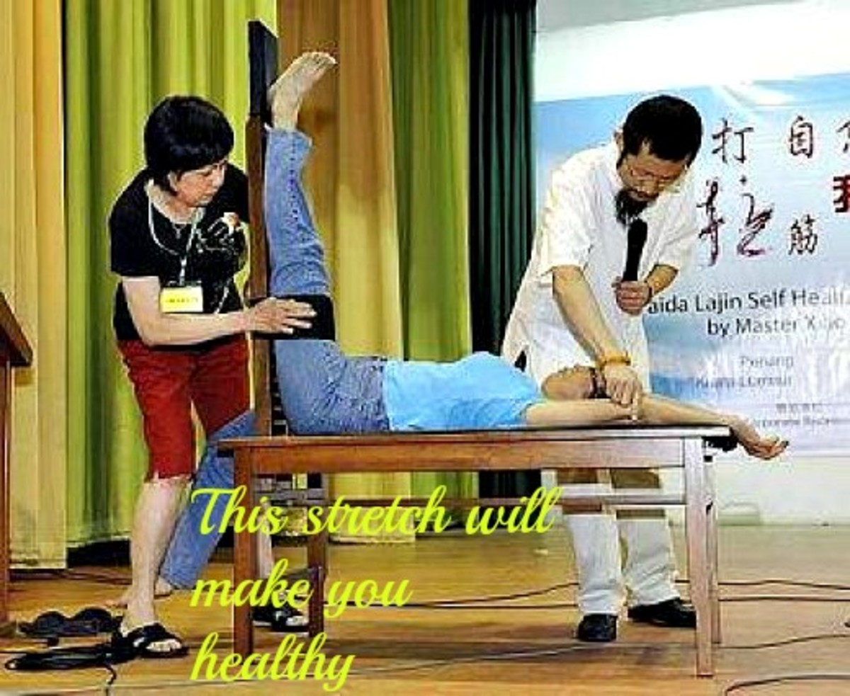 Self-Healing : Lajin Stretch And Exercise By Xiao Hongchi