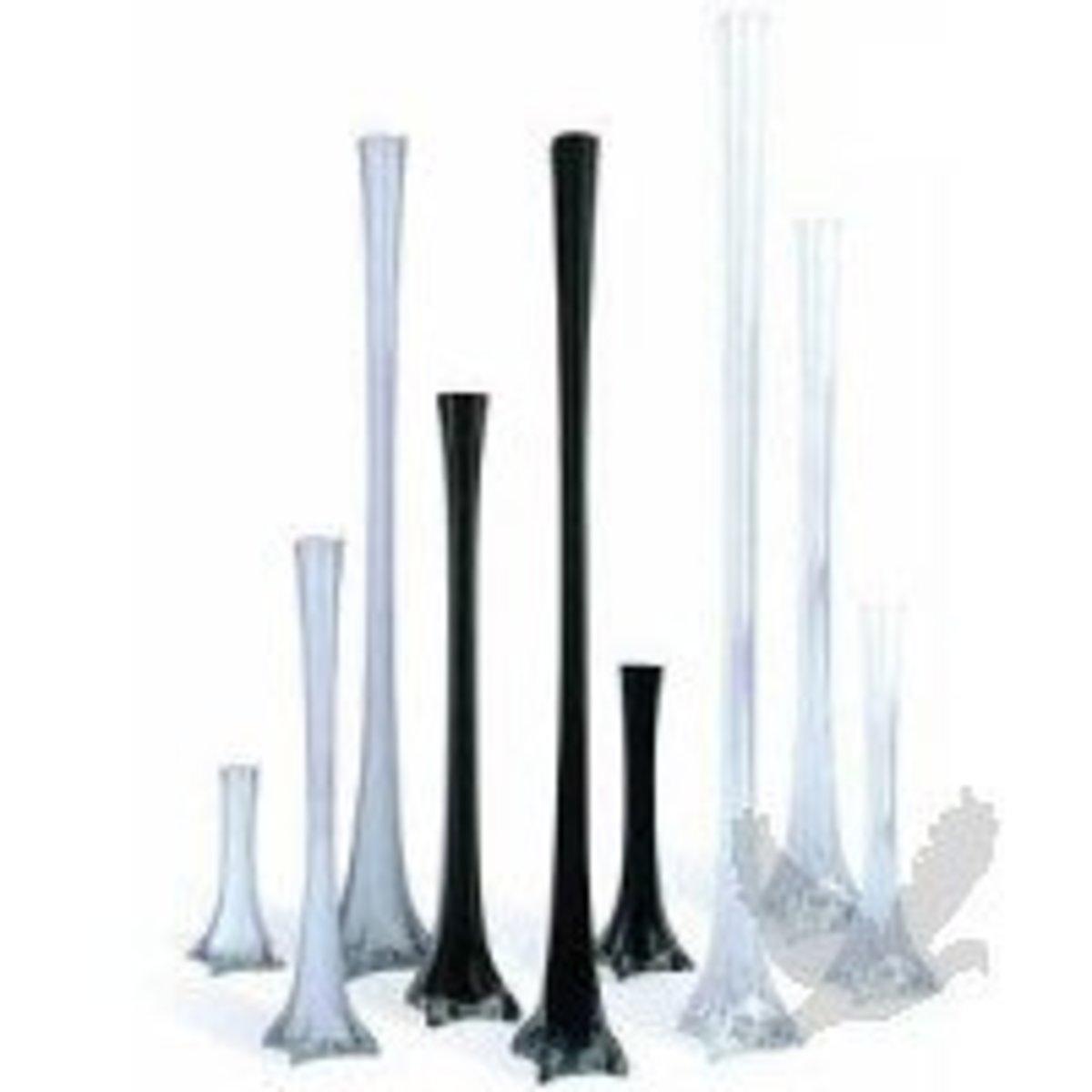 Cheap Eiffel Tower Vase Wedding Centerpieces
